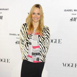 Laura Pamplona en la presentación de la colección de Isabel Marant para H&M