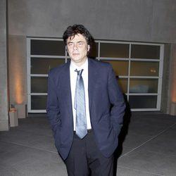 Benicio del Toro en la cena del embajador de Estados Unidos a los Príncipes de Asturias