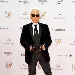 Karl Lagerfeld en los Premios Bambi 2013