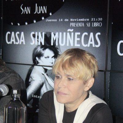 Antonia San Juan presenta su libro 'Casa sin muñecas'