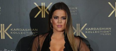 Khloe Kardashian presenta la nueva colección de ropa de las Kardashian en Londres