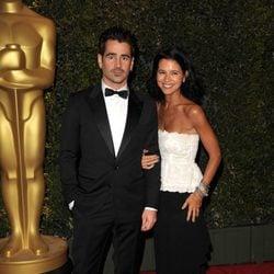 Colin Farrell y Claudine Farrell en la ceremonia de entrega de los Governors Awards 2013