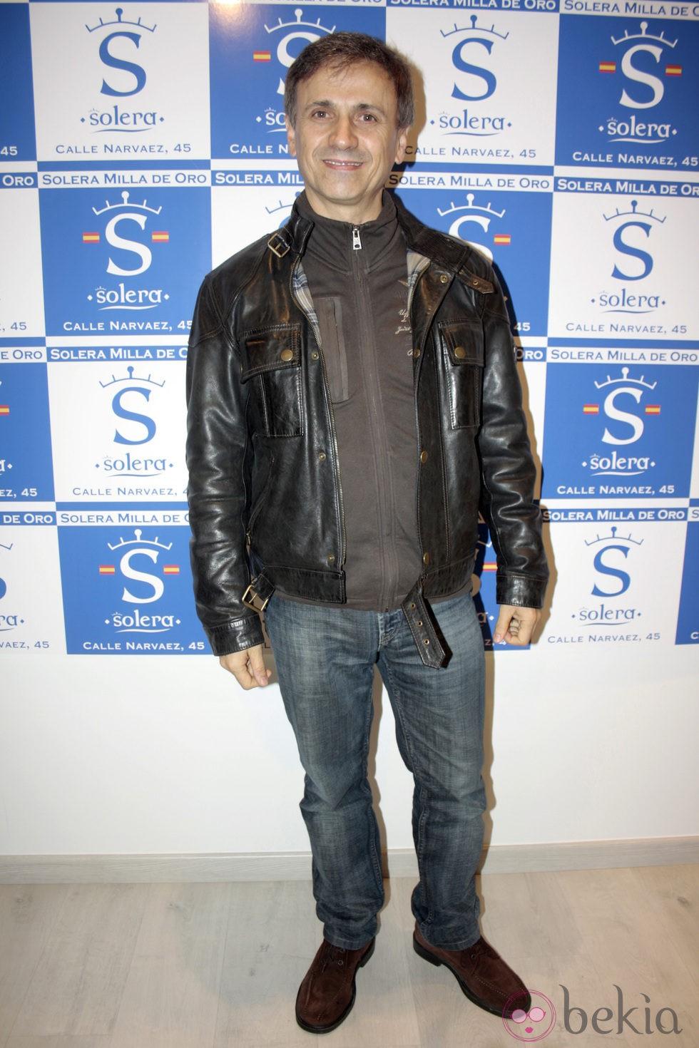 José Mota en la apertura de una tienda de la firma Solera en Madrid