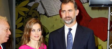 Los Príncipes Felipe y Letizia inauguran la Feria del Libro en Miami