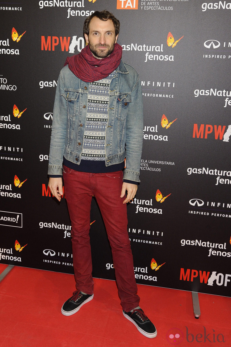 Julián Villagrán en la Madrid Premiere Week 2013