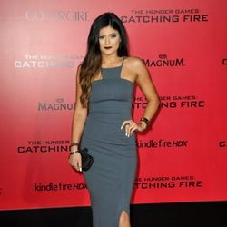 Kylie Jenner en el estreno de 'Los Juegos del Hambre: En llamas' en Los Angeles