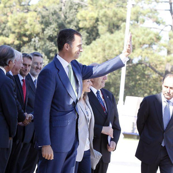 Los Príncipes de Asturias retoman su agenda tras el verano en Santander