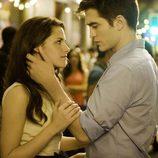 Las caricias de Robert Pattinson y kristen Stewart en 'Amanecer'