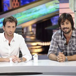 Pablo Motos y Hugo Silva en 'El Hormiguero'
