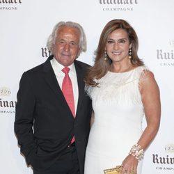 El ex torero Palomo Linares y su mujer Marina Danko