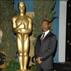 Eddie Murphy durante el lunch de los nominados a los Oscar 2007