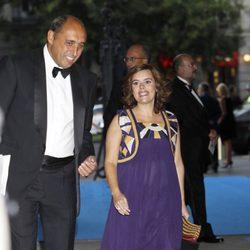 Soraya Sáenz de Santamaría en la cena del 25 aniversario de 'Expansión'