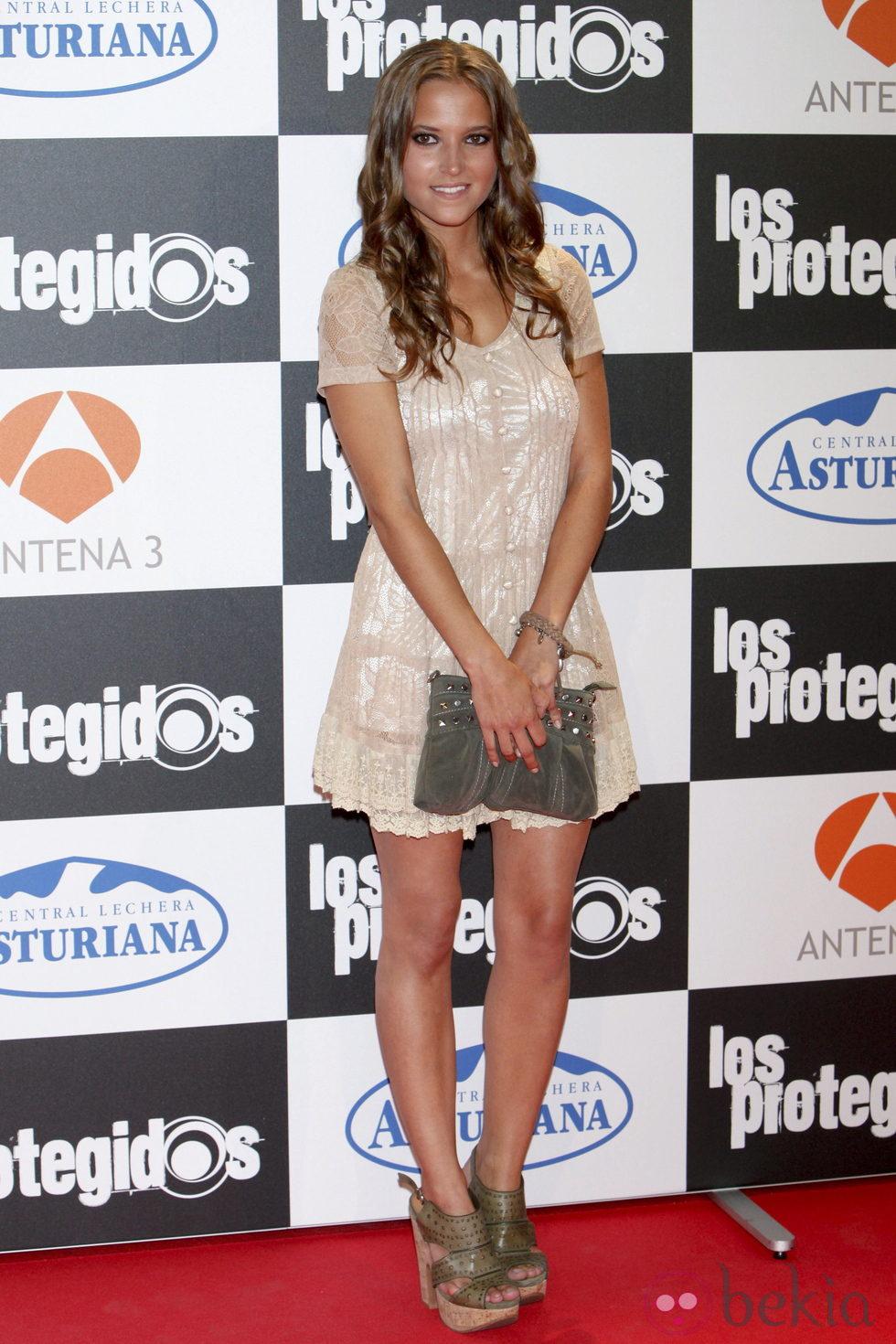 Ana Fernández en el estreno de la tercera temporada de 'Los Protegidos'