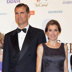 Los Príncipes de Asturias en la cena del 25 aniversario de 'Expansión'