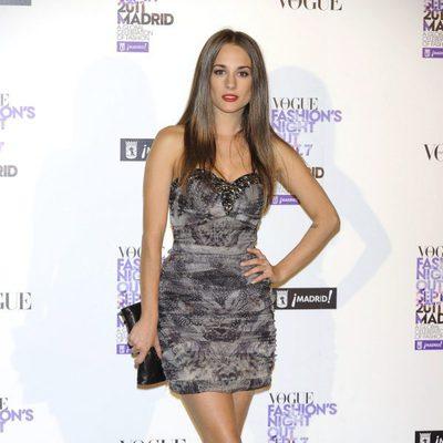 Silvia Alonso en la Vogue Fashion's Night Out 2011