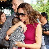 Victoria Beckham y Harper Seven causan sensación en Nueva York