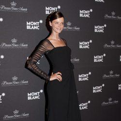 Carmen Kass en la gala Montblanc celebrada en Mónaco