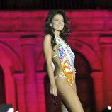 Paula Guilló durante la gala de elección de Miss España 2010