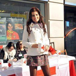 La Miss España 2010 Paula Guilló el Día de la Cruz Roja