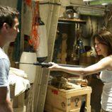 Mario Casas y Blanca Suárez en el primer capítulo de la segunda temporada de 'El barco'