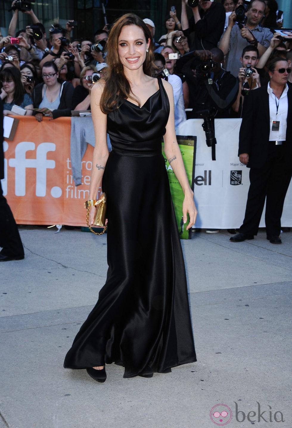 Angelina Jolie en el estreno de 'Moneyball' en Toronto