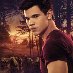 Taylor Lautner en el cartel de 'Amanecer Parte 1'