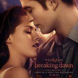 Robert Pattinson y Kristen Stewart en el cartel de 'Amanecer Parte 1'