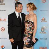 Antonio Banderas y Melanie Griffith en los premios ALMA 2011