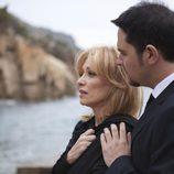 Borja Thyssen apoya a su madre, Carmen Cervera, en 'Tita Cervera. La Baronesa'