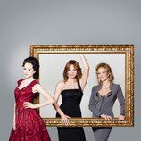 Las tres actrices que interpretan a Carmen Thyssen en 'Tita Cervera. La Baronesa'