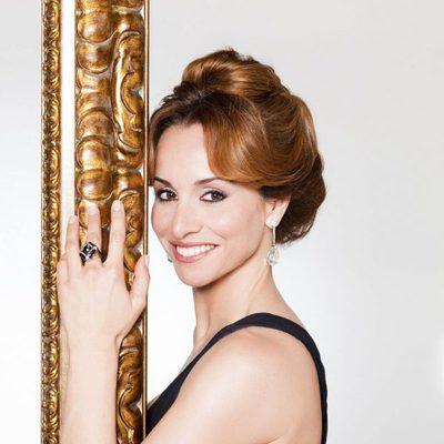 Mar Regueras interpreta a Carmen Thyssen en 'Tita Cervera. La Baronesa'