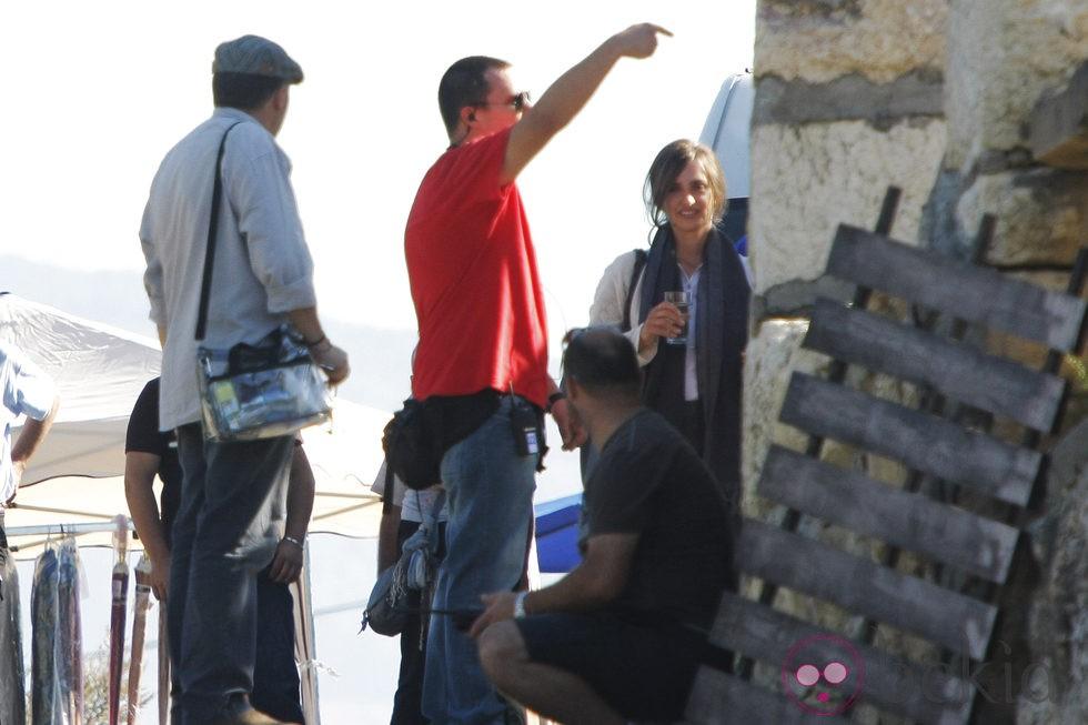 Penélope Cruz llega al rodaje de 'Venuto Al Mondo' en Sarajevo
