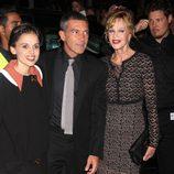 Elena Anaya, Antonio Banderas y Melanie Griffith en el Festival de Cine de Toronto