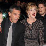 Antonio Banderas y Melanie Griffith, de promoción en Toronto