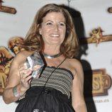 Consuelo Berlanga durante una fiesta de 'Supervivientes' en Madrid