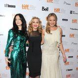 Andrea Riseborough, Madonna y Abbie Cornish en el estreno de 'W.E.' en el Festival de Toronto