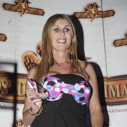 Malena Gracia con un bikini durante una fiesta de 'Supervivientes' en Madrid