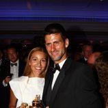 Jelena Ristic, la novia de Djokovic en Wimbledon