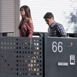 Sara Carbonero e Iker Casillas en su casa de Boadilla