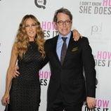 Sarah Jessica Parker y Matthew Broderick en el estreno de 'Tentación en Manhattan' en Nueva York