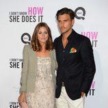 Olivia Palermo y Johannes Huebl en el estreno de 'Tentación en Manhattan' en Nueva York