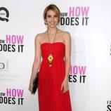 Emma Roberts en el estreno de 'Tentación en Manhattan' en Nueva York