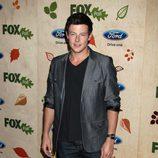 Cory Monteith en la presentación de la nueva temporada de Fox