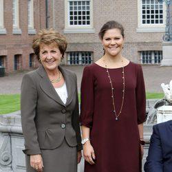 Victoria de Suecia y Margarita de Holanda en el encuentro con el Comité Paralímpico Internacional