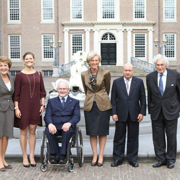 Las Princesas Victoria, Margarita y Astrid se reúnen con el Comité Paralímpico Internacional