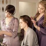 Kristen Stewart se viste de blanco en la película 'Amanecer'