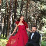 Jorge Javier Vázquez y Raquel Sánchez Silva, presentadores de 'Acorralados'