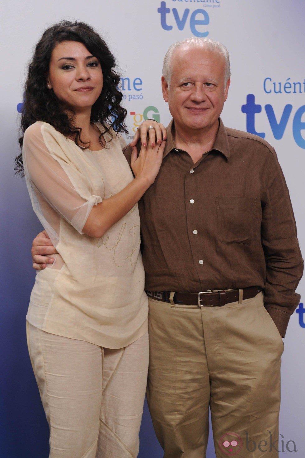 Ana Arias y Juan Echanove en la celebración de los 10 años de 'Cuéntame cómo pasó'