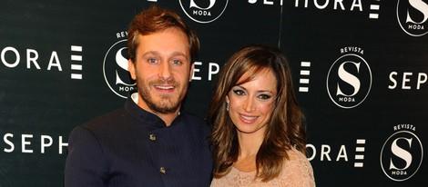 Juan Peña y Sonia González en el 15 aniversario de Sephora