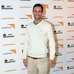 Darío Barrio en la inauguración de la exposición 'Quiero ser mayor'